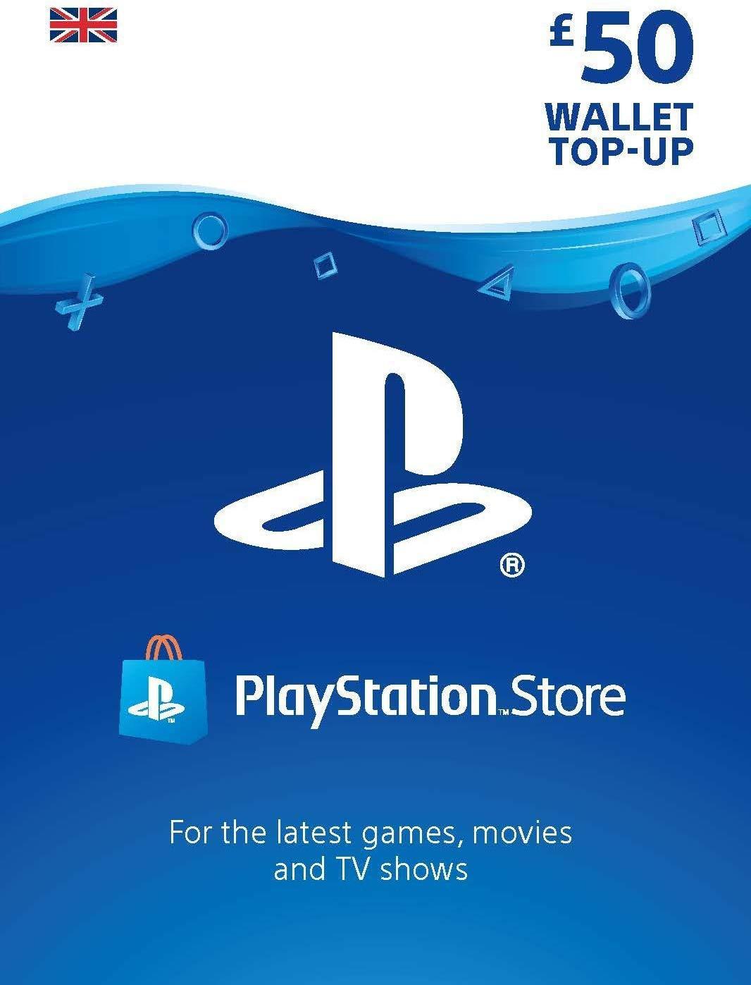 Playstation Network Card 50 GBP (United Kingdom)