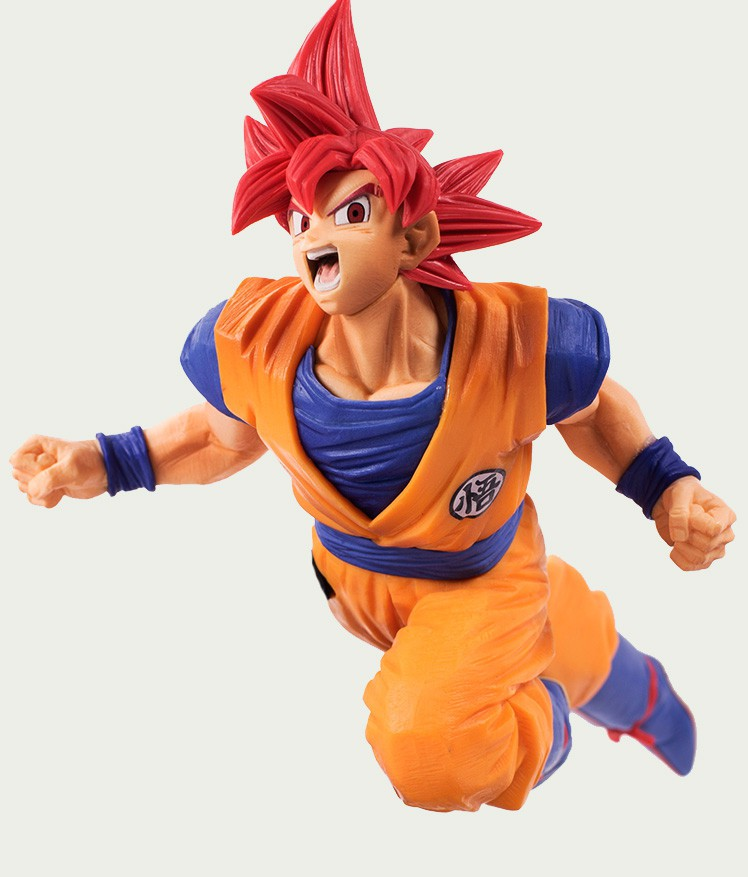 DRAGON BALL Super Saiyan God Son Goku statula| 20cm