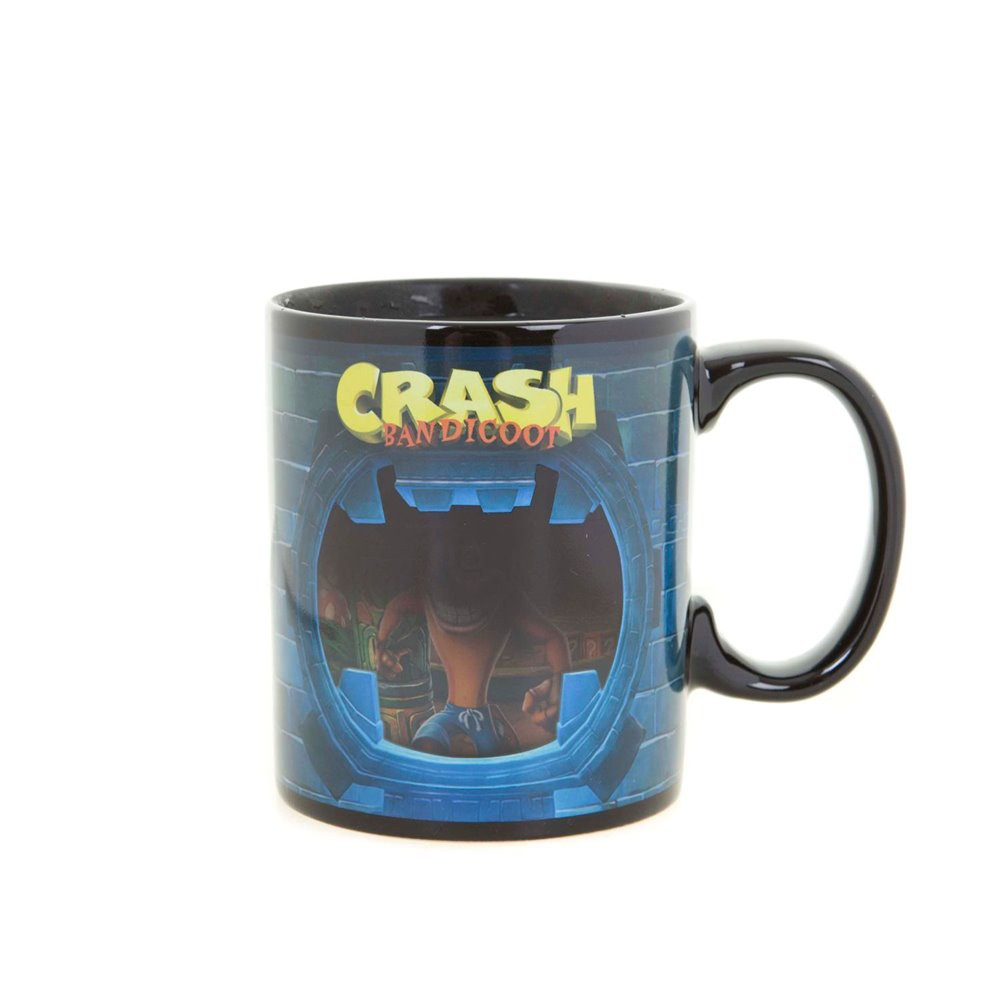 Crash Bandicoot 300 ml heat change mug
