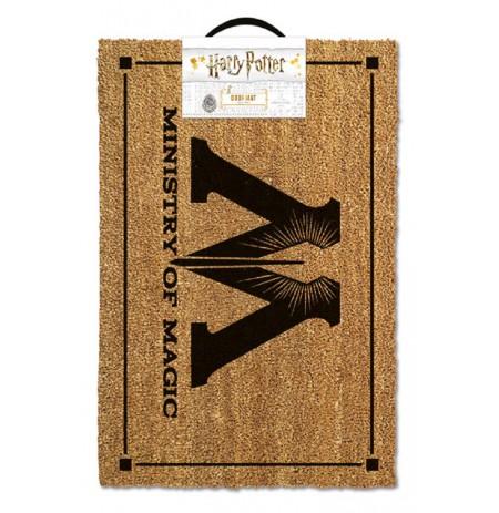 HARRY POTTER - MINISTRY OF MAGIC durų kilimėlis| 60x40cm