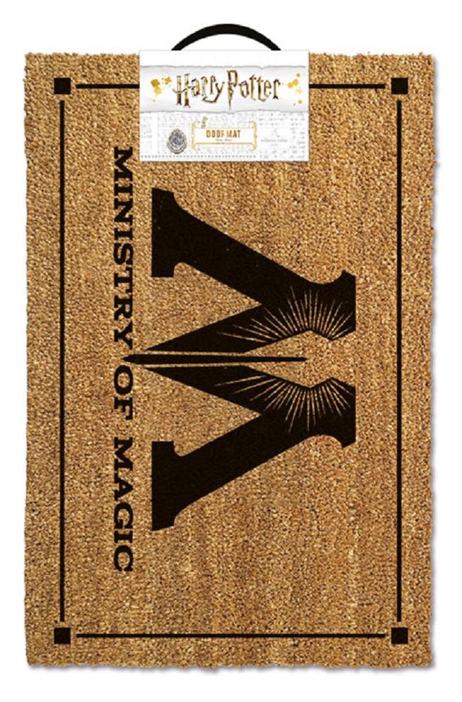 HARRY POTTER - MINISTRY OF MAGIC durų kilimėlis  60x40cm
