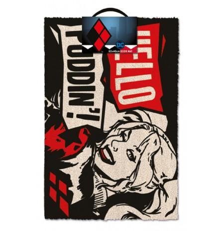 DC COMICS - HARLEY QUINN PUDDIN' durų kilimėlis| 60x40cm