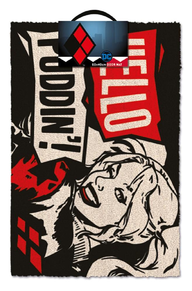 DC COMICS - HARLEY QUINN PUDDIN' doormat | 60x40cm