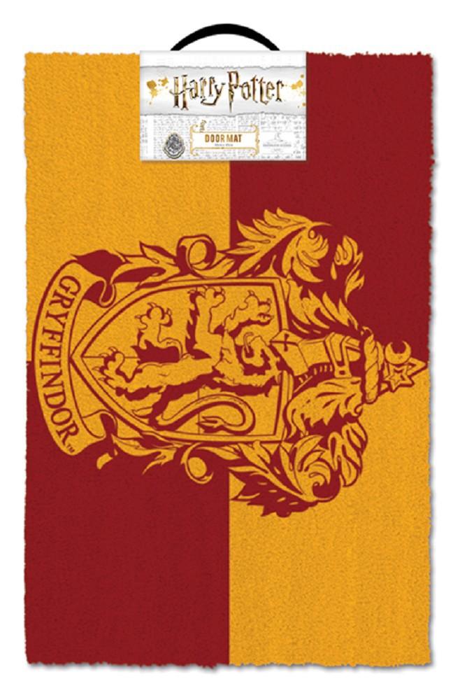 HARRY POTTER - GRYFFINDOR durų kilimėlis| 60x40cm