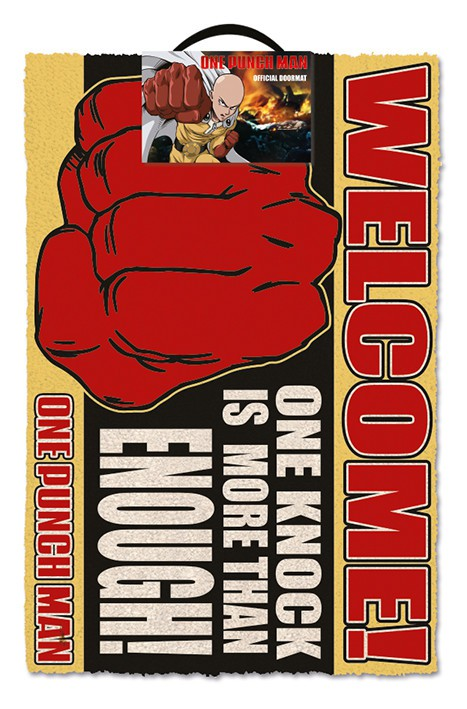 ONE PUNCH MAN - ONE KNOCK doormat | 60x40cm
