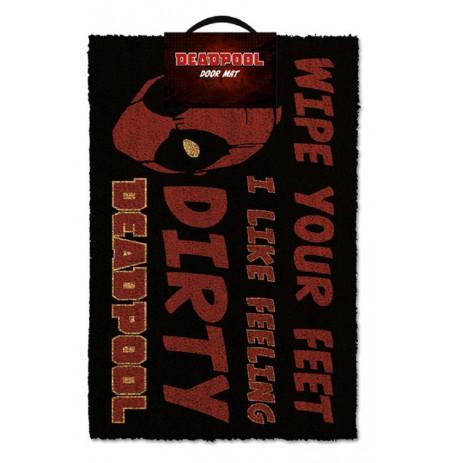 DEADPOOL - DIRTY durų kilimėlis| 60x40cm