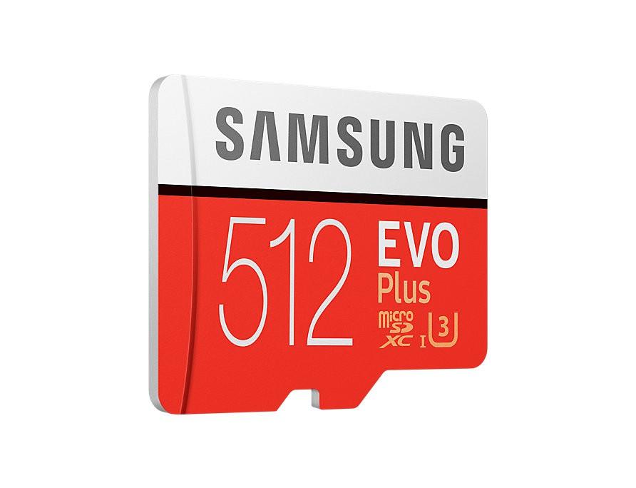SAMSUNG EVO PLUS 512GB MICROSDXC