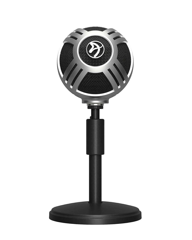 Arozzi Sfera juodas kondensatorinis mikrofonas