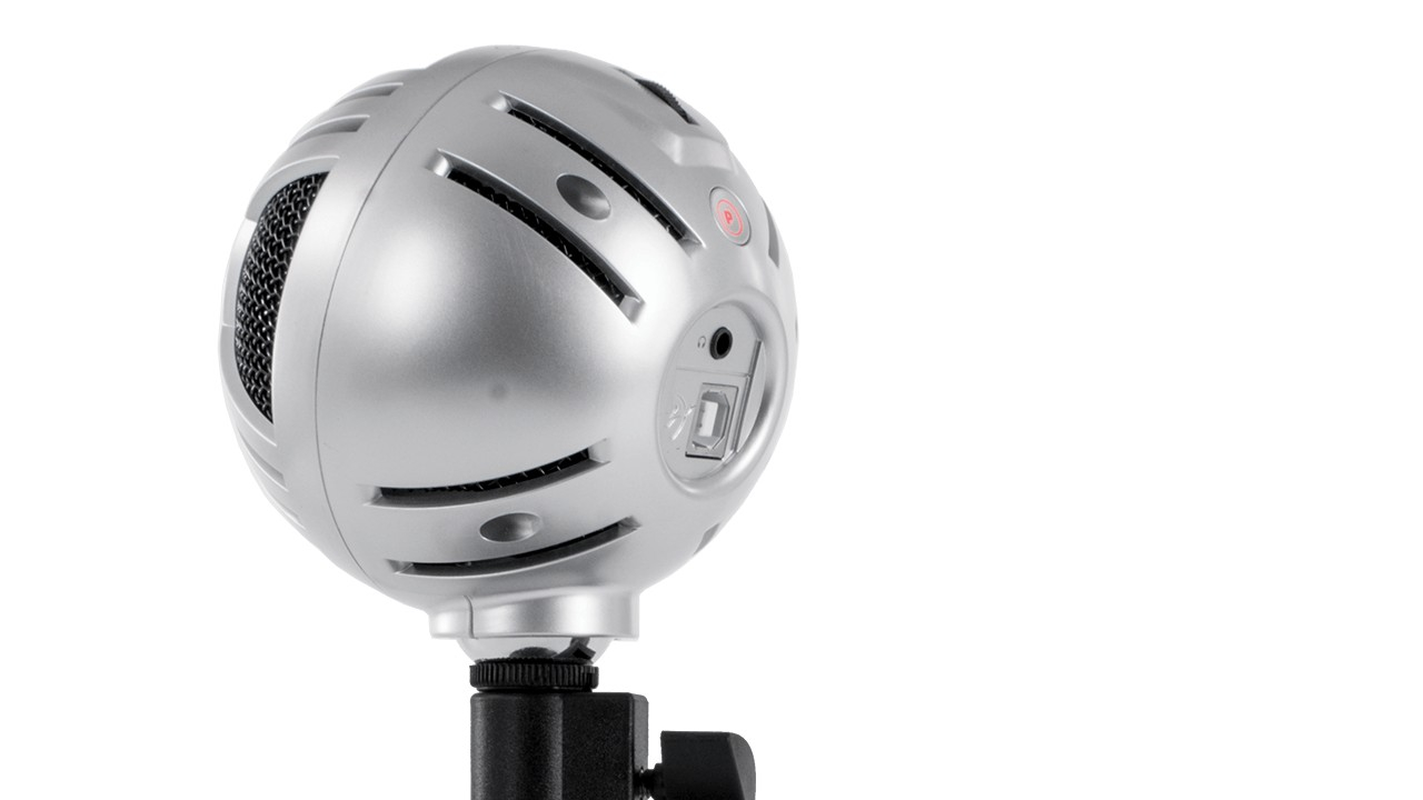 Arozzi Sfera Pro Microphone - Silver