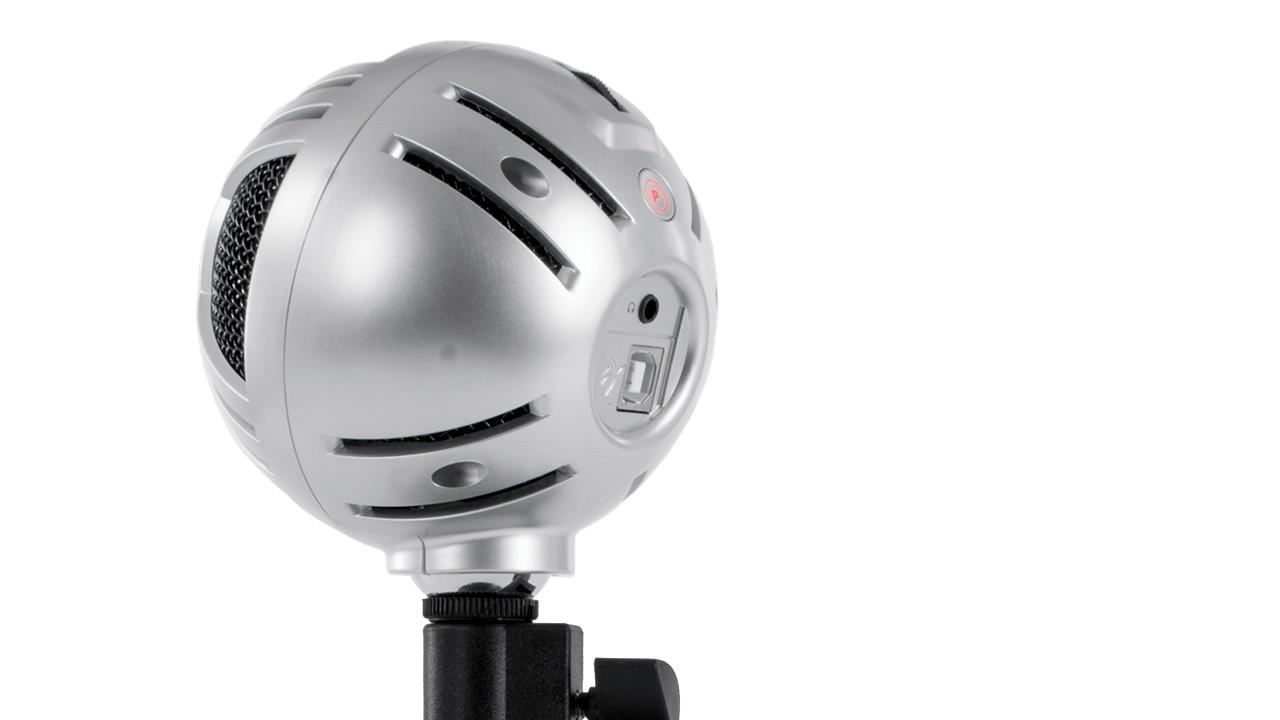 Arozzi Sfera PRO sidabrinis kondensatorinis mikrofonas