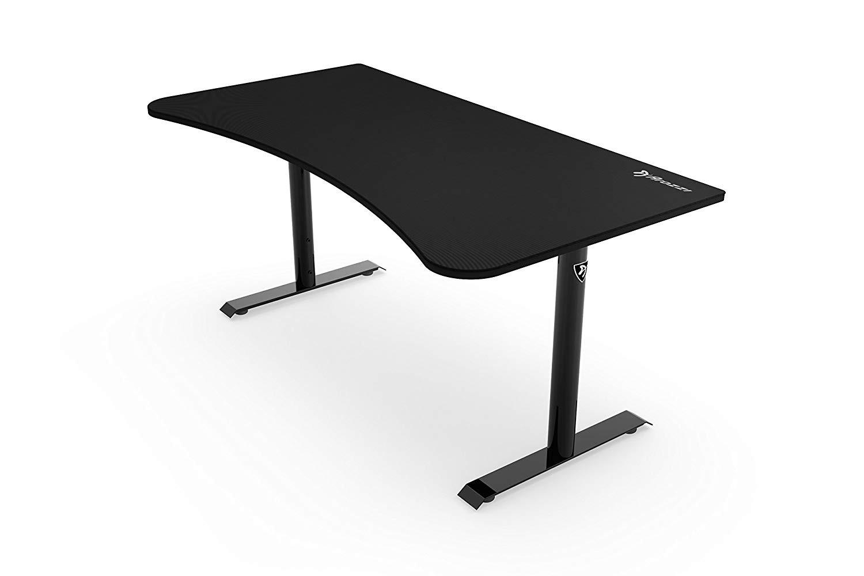 AROZZI ARENA pure black gaming desk