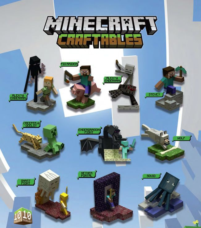 "MINECRAFT - Figures ""Craftables"" 