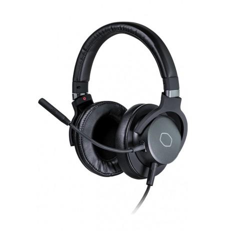COOLERMASTER MH751 juodos laidinės žaidimų ausinės | 3.5mm/USB