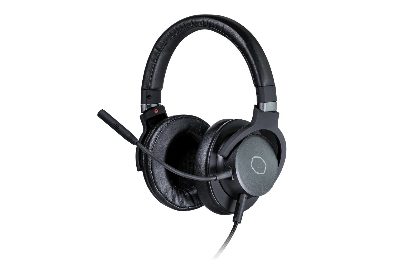 COOLER MASTER MH751 black wired headphones  | 3.5mm