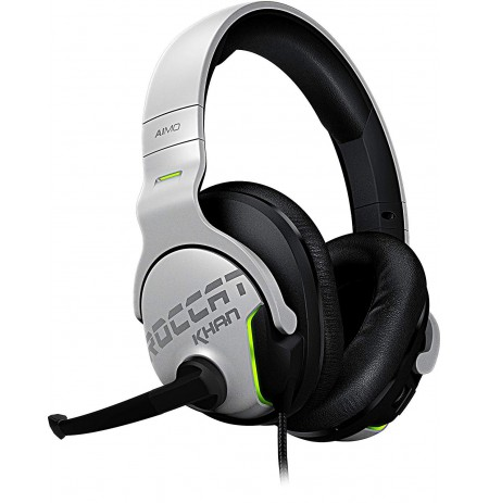 ROCCAT Khan AIMO 7.1 white gaming headset | USB
