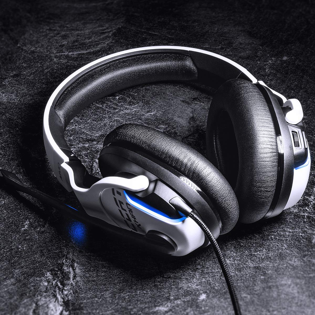 ROCCAT Khan AIMO 7.1 white gaming headset   USB