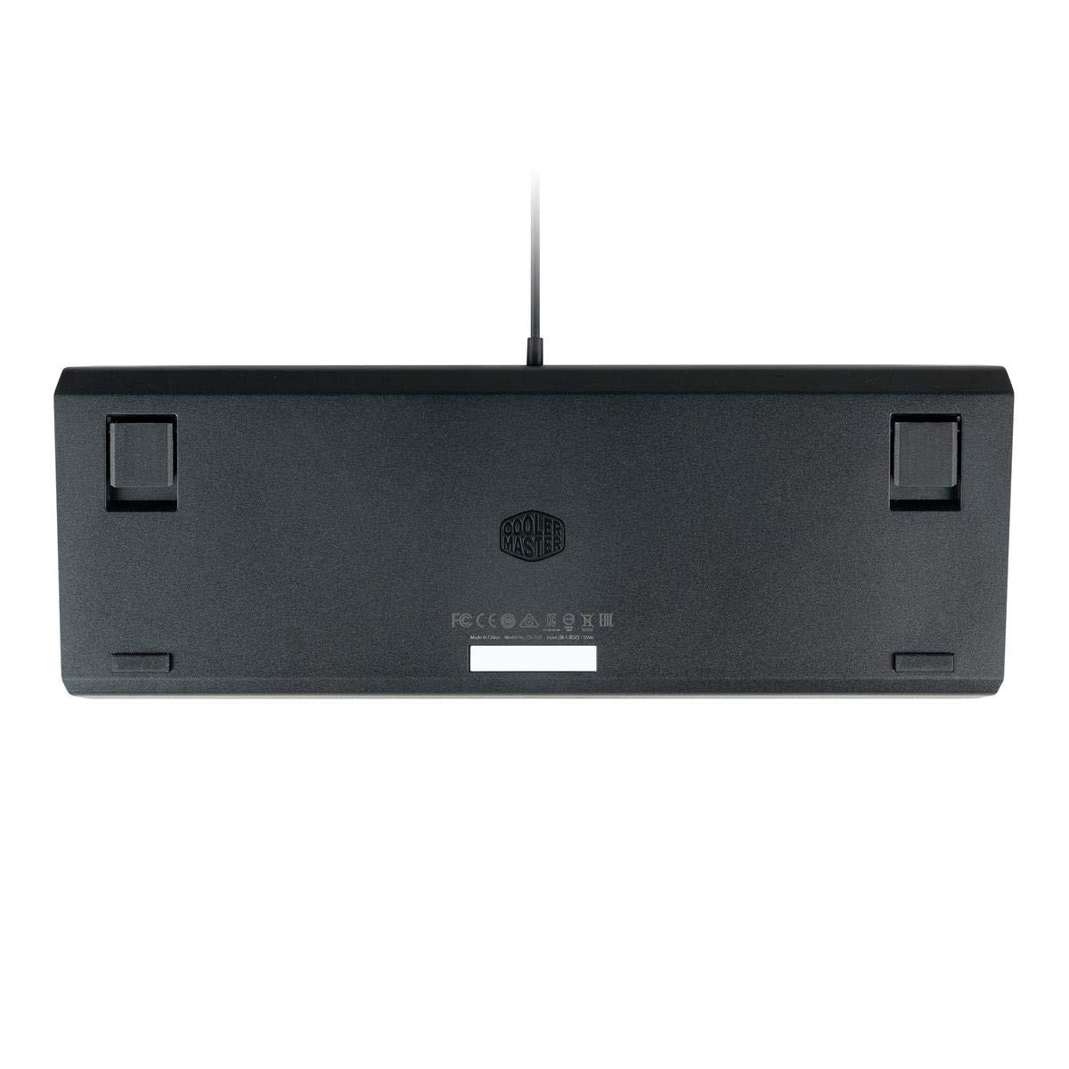 COOLER MASTER MASTERKEYS CK530 TKL mechaninė laidinė RGB klaviatūra | US BROWN