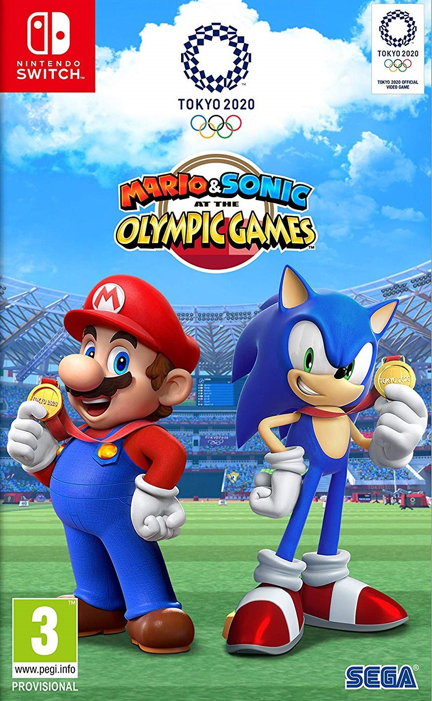 2020 Switch Games.Mario Sonic At The Olympic Games Tokyo 2020