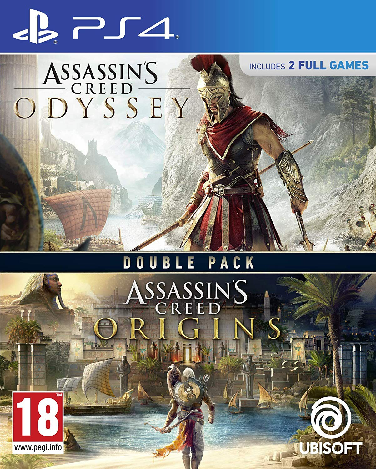 Assassin's Creed Origins + Odyssey Double Pack