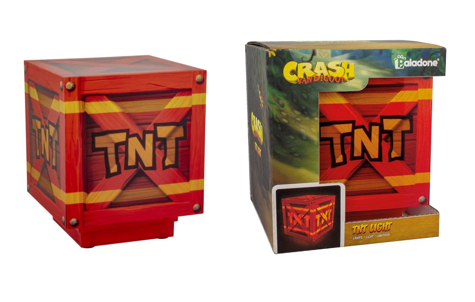 CRASH BANDICOOT - TNT Light 10cm