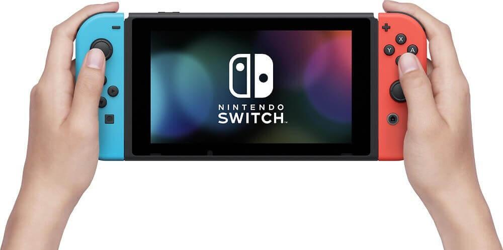 Nintendo Switch konsolė (su Neon Red ir Neon Blue Joy- Con) v1.1(V2)