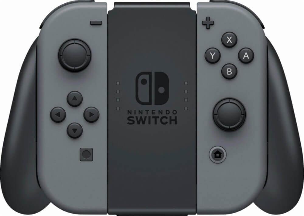 Nintendo Switch konsolė (su pilkais Joy-Con) v1.1