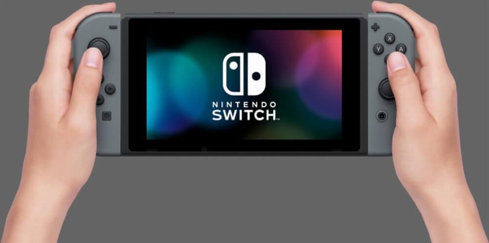 Nintendo Switch console (with Grey Joy-Con)  v1.1