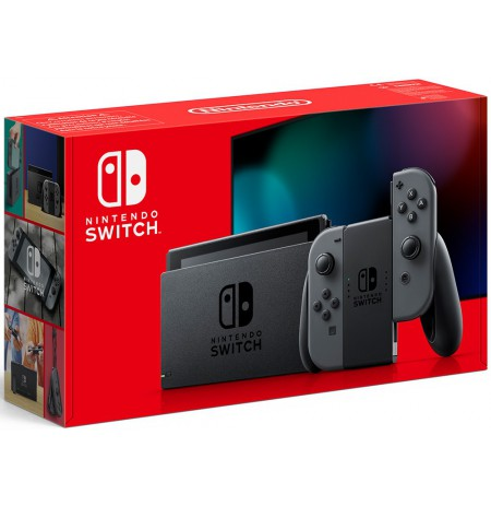 Nintendo Switch console (with Grey Joy-Con) v1.1(V2)