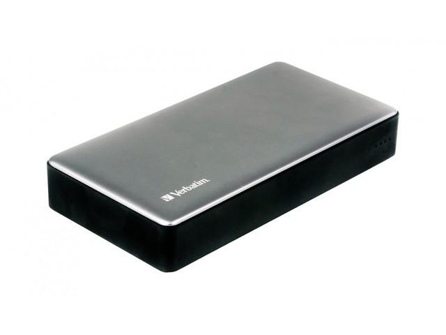 VERBATIM 20 000mAh Įkroviklis-akumuliatorius (Power Bank)  USB/USB-C