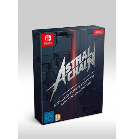 Astral Chain Collector's Edition + preorder bonus (Legion pin)