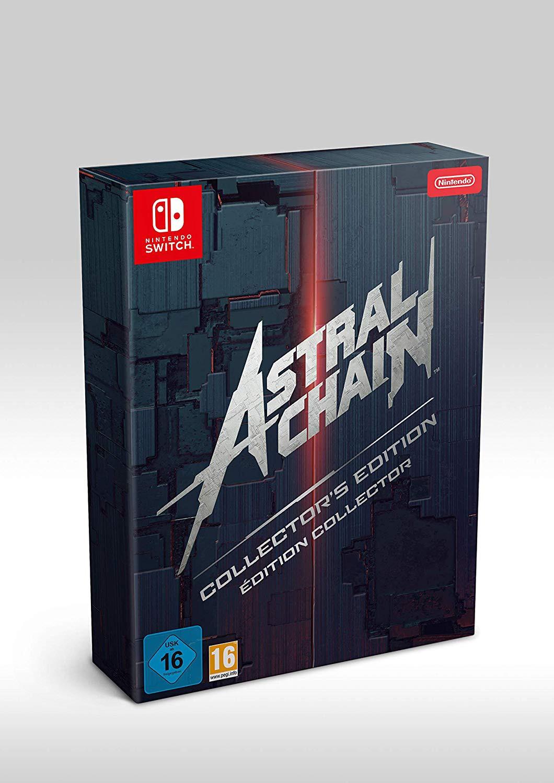 Astral Chain Collector's Edition + preorder bonus (Legion pin)