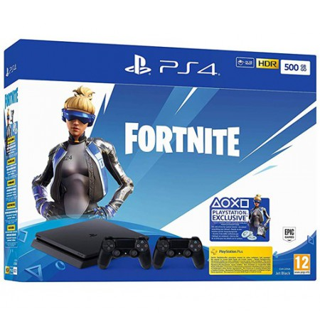 SONY PlayStation 4 (PS4) Slim 500GB - Fortnite Neo Versa Dualshock Bundle