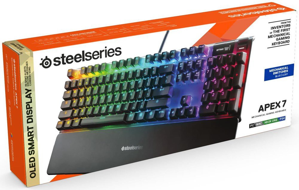 Steelseries Apex 7 keyboard  (US) (Blue switch)