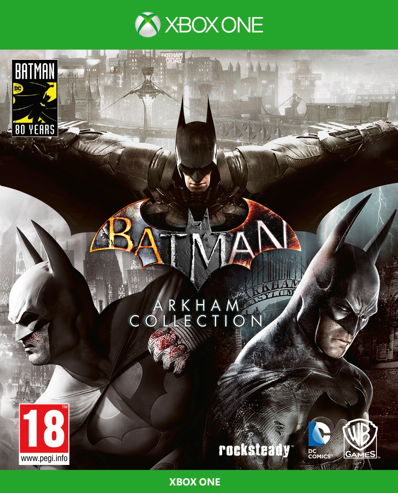 Batman: Arkham Collection Steelbook Edition