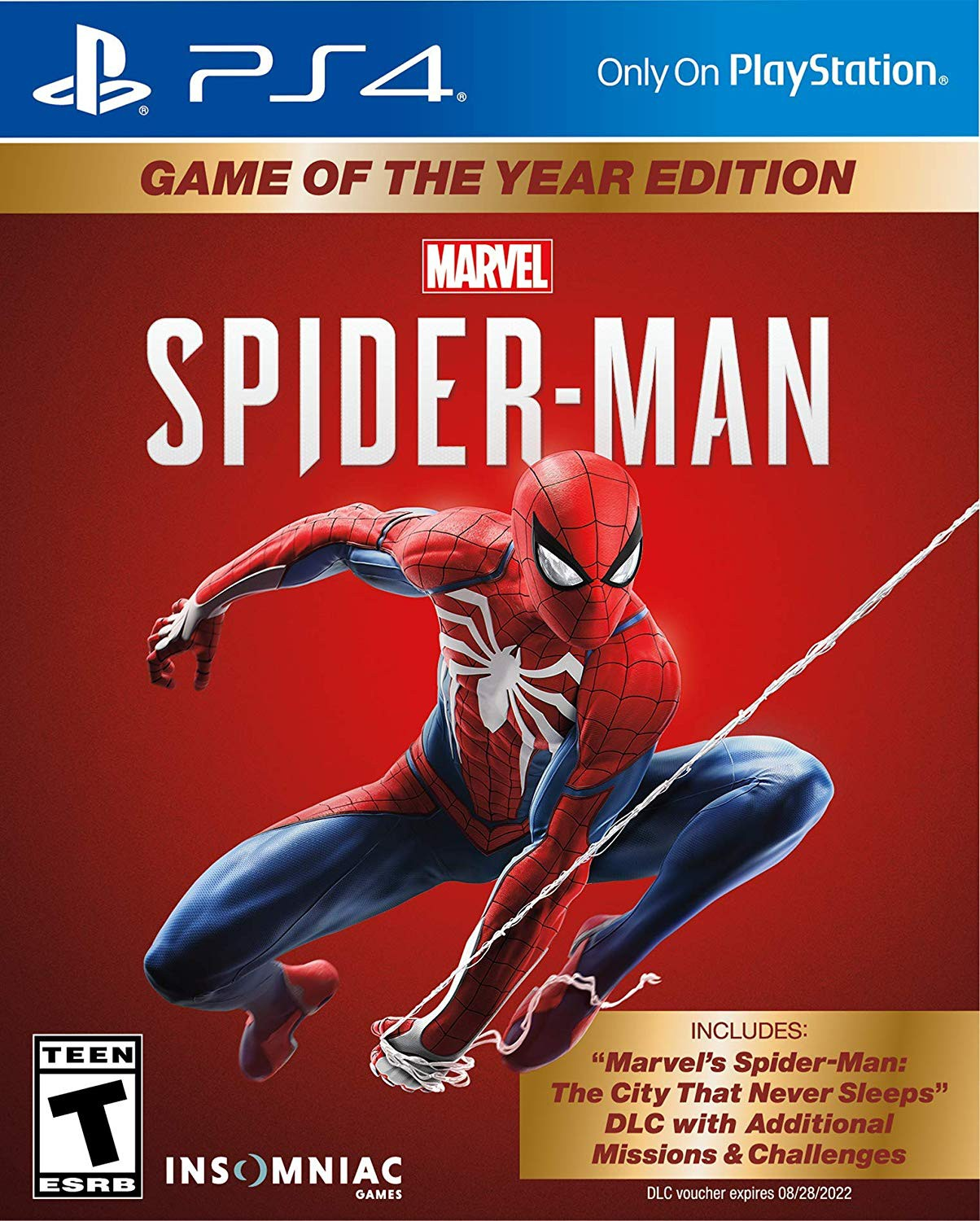 Marvel's Spider-Man: Standard Edition PS4