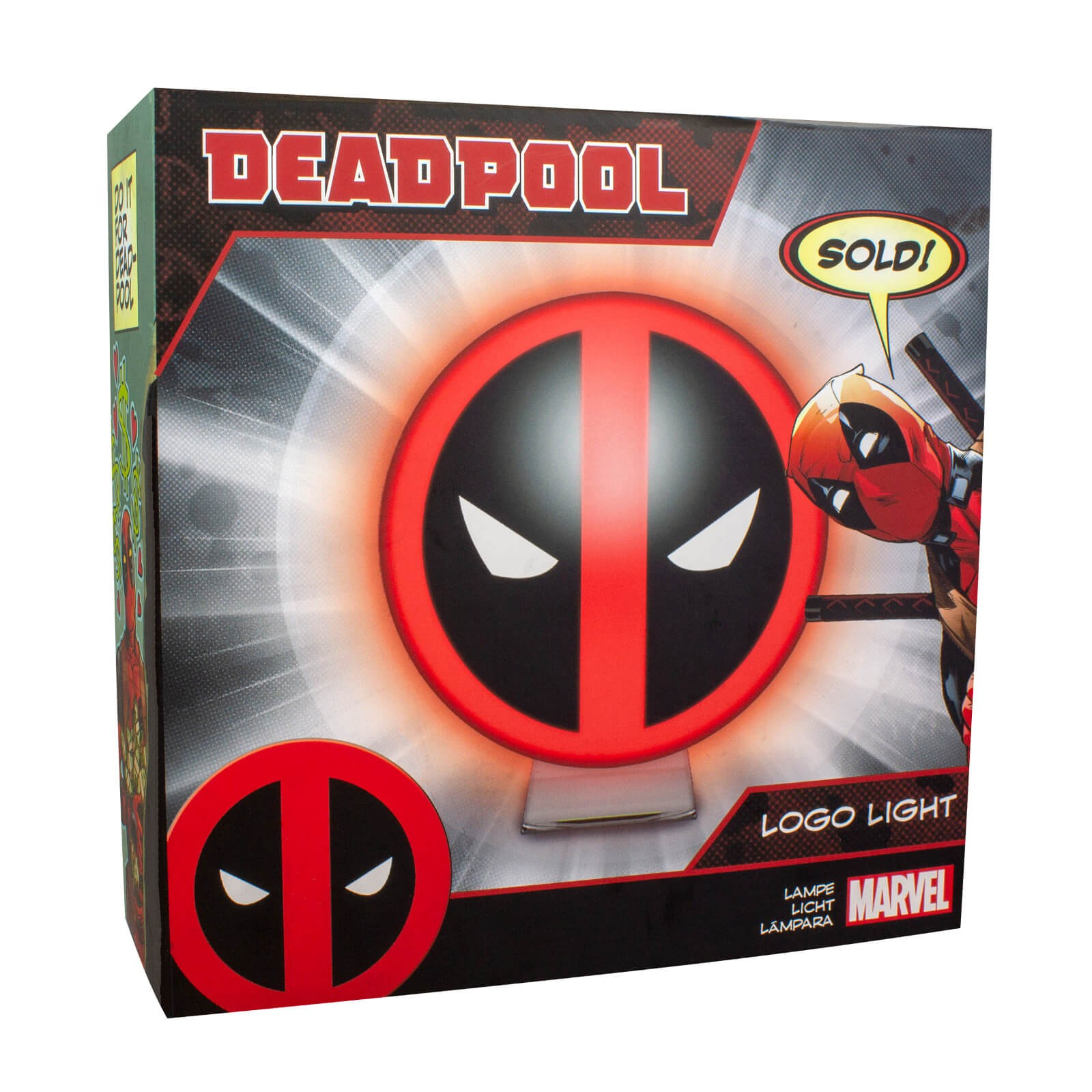 Deadpool - Logo lempa 10cm