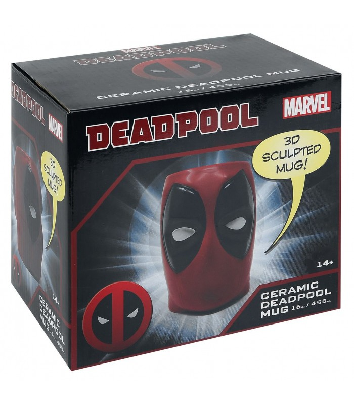 Deadpool - Face 3D Mug
