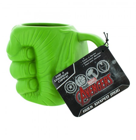 THE HULK - HULK SHAPED 3D Mug