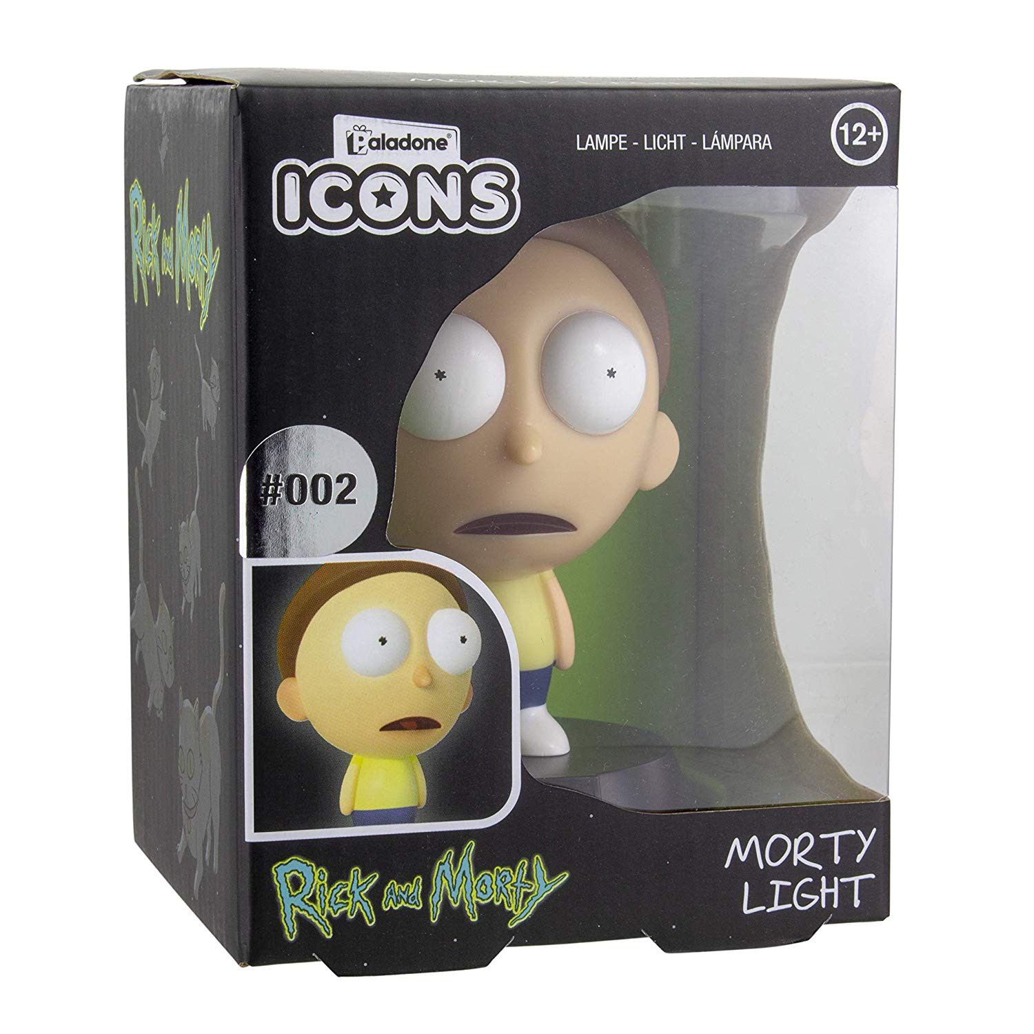 RICK AND MORTY - Morty  ICON light 10cm