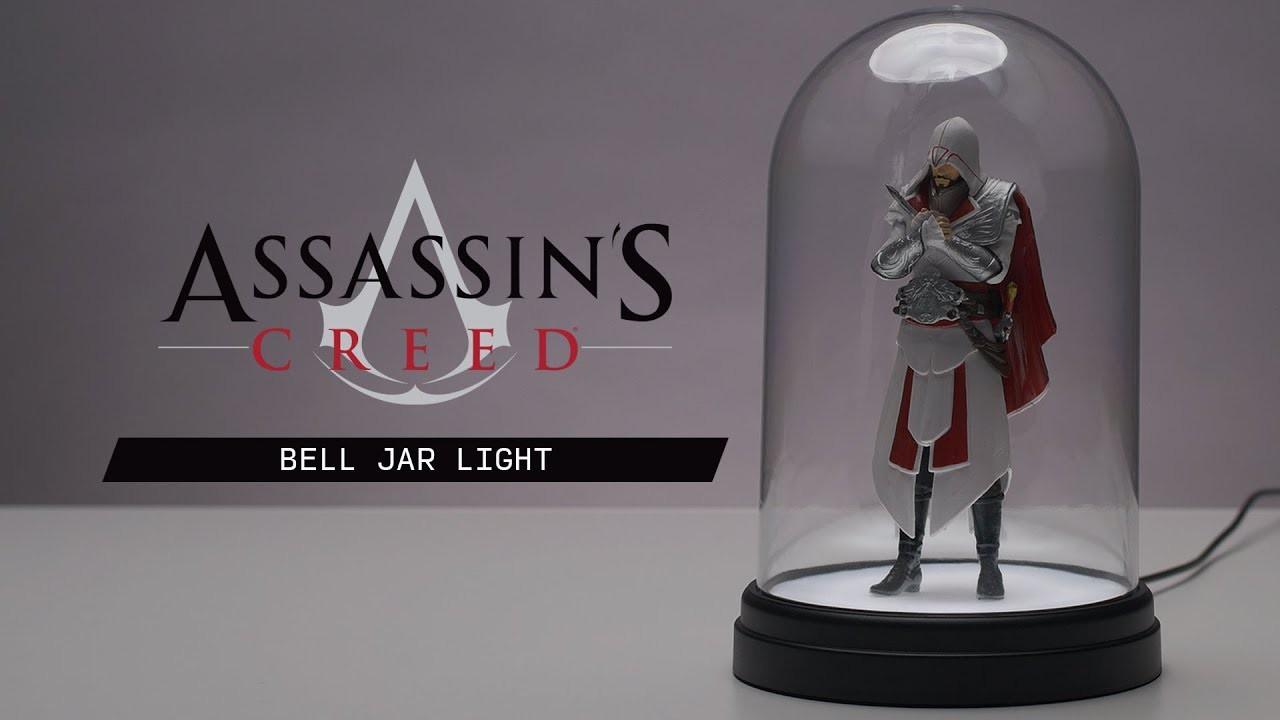 Assassins Creed Bell Jar lempa 20cm