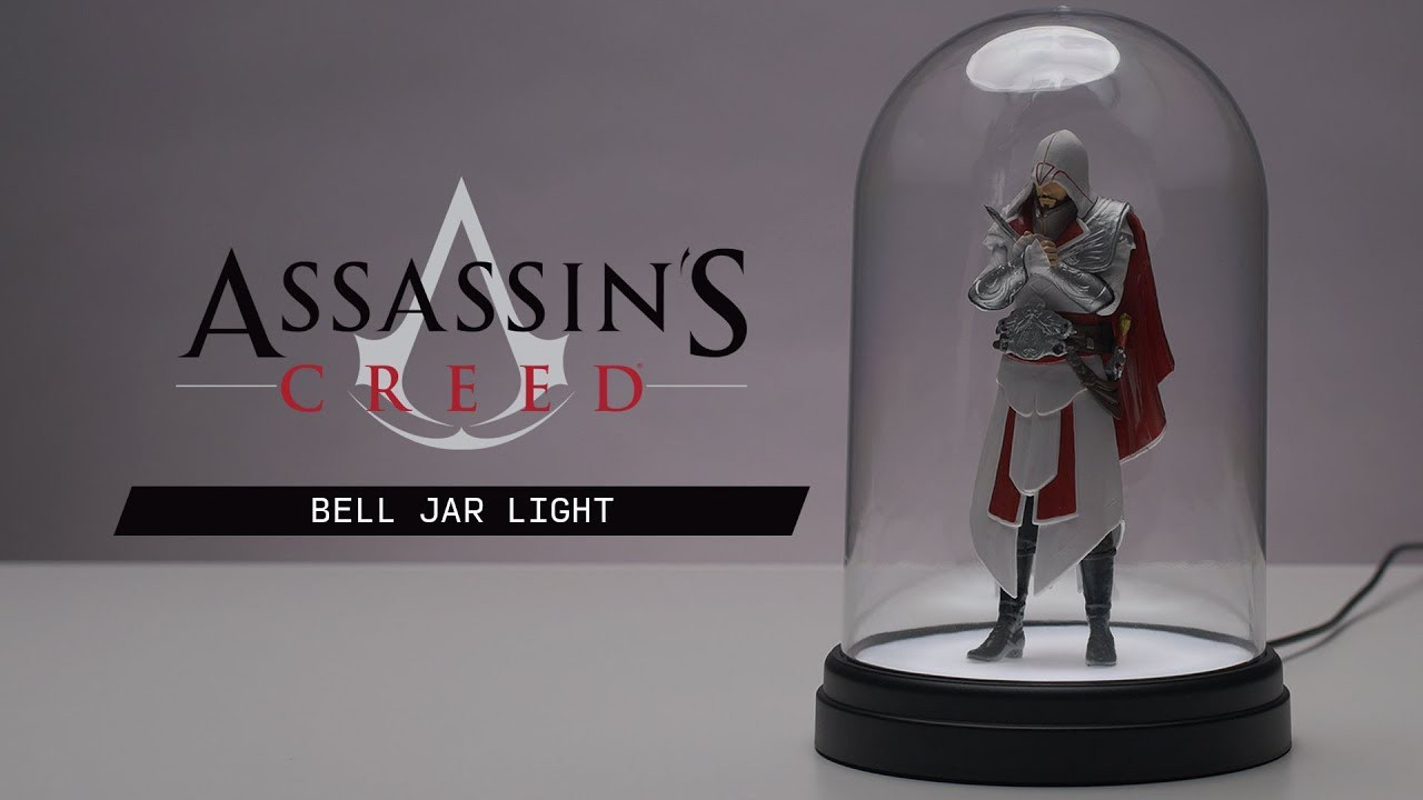 Assassins Creed Bell Jar Light 20cm