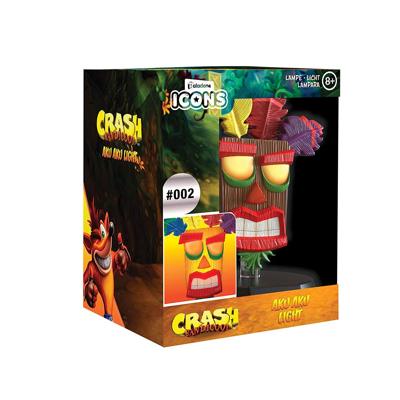 Crash Bandicoot AKU ICON lempa 10cm