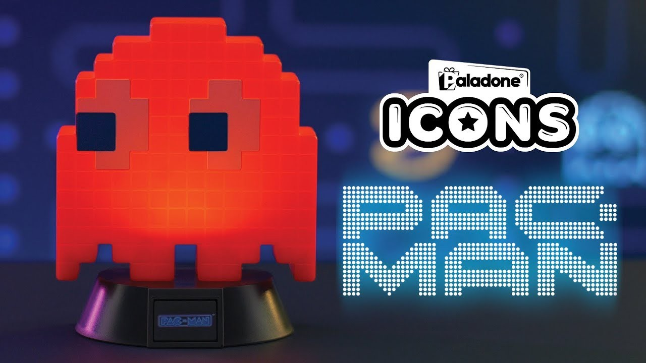 PacMan Blinky ICON lempa 10cm