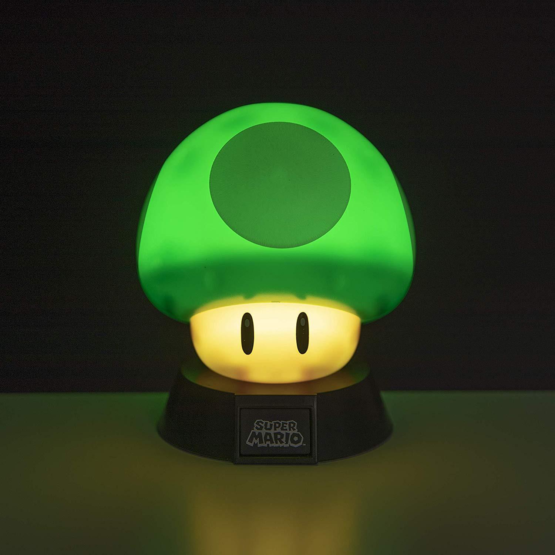 MARIO 1Up Mushroom ICON lempa 10cm