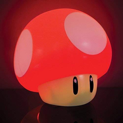 Super Mario Mushroom lempa 10cm