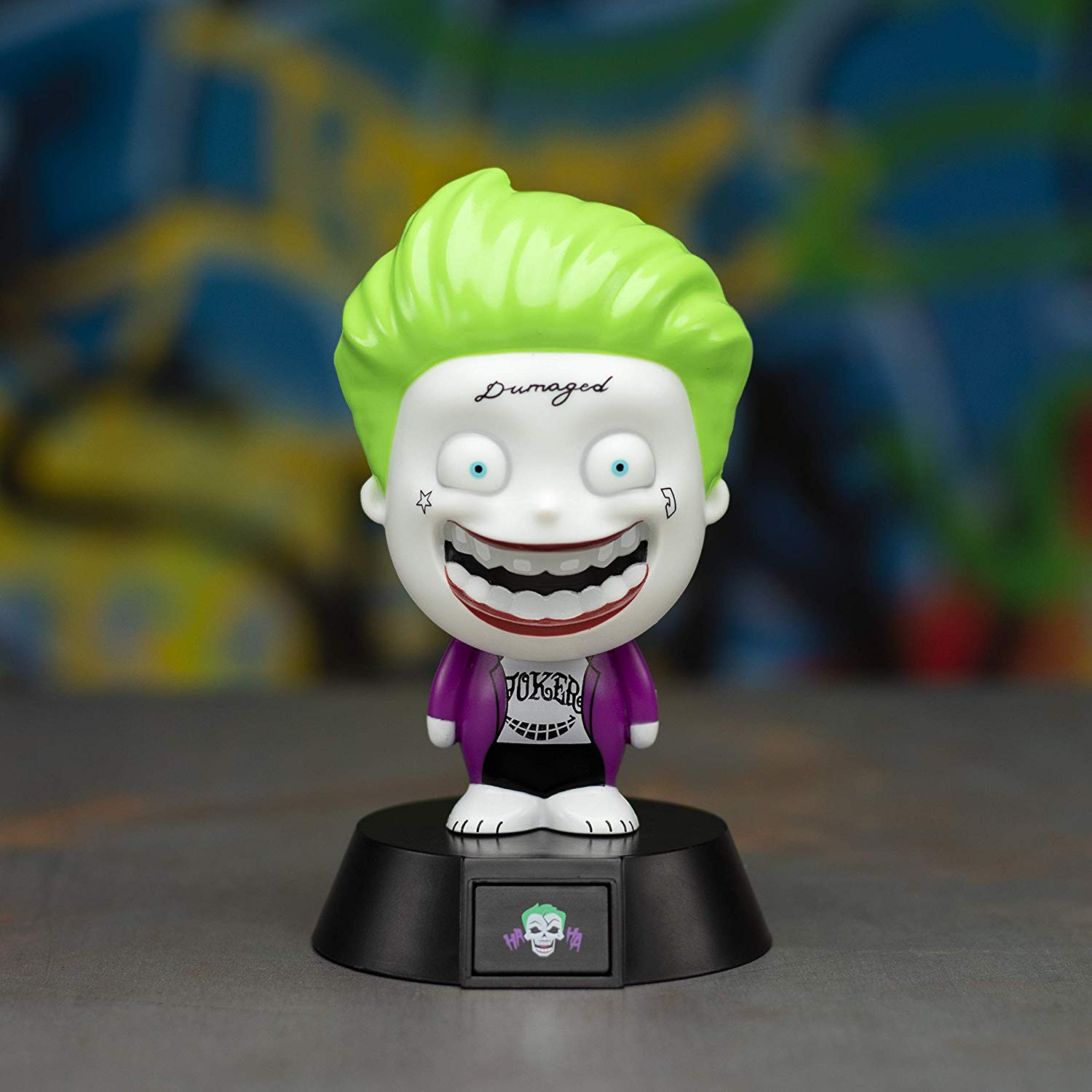 SUICIDE SQUAD - SUICIDE SQUAD THE JOKER ICON light 10cm