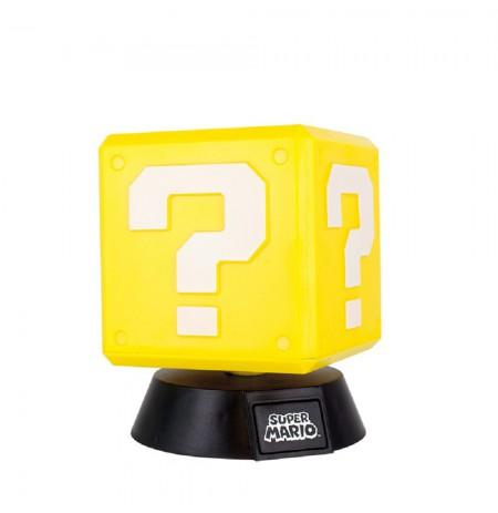 Super Mario Question Block lempa 10cm