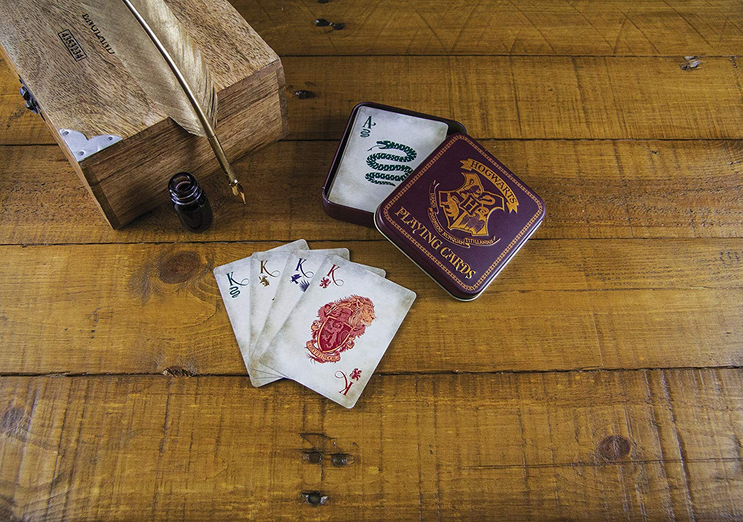 HARRY POTTER - HOGWARTS - Playing Cards