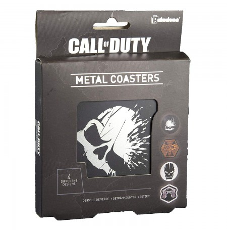 CALL OF DUTY - METAL COASTERS
