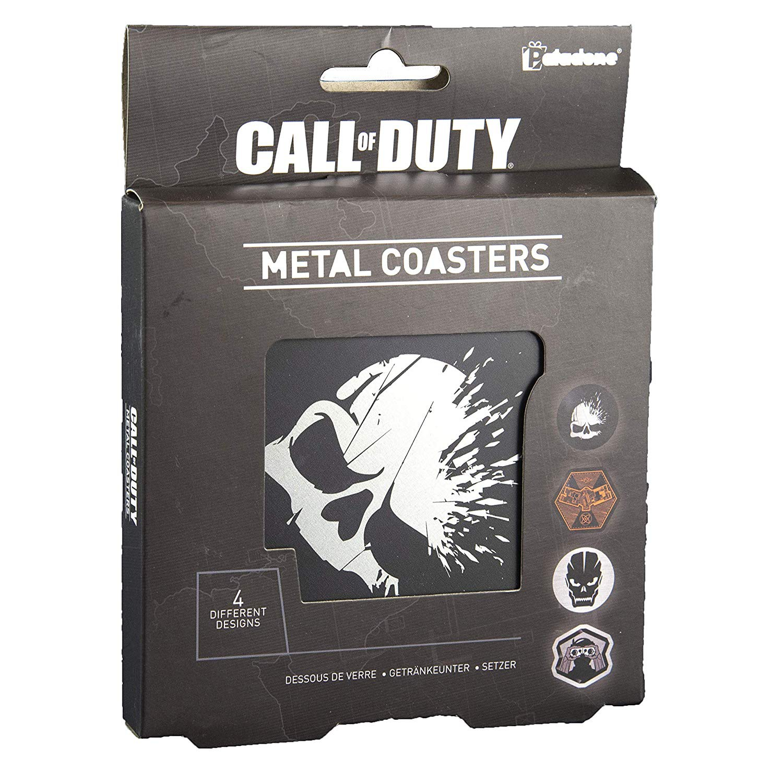 CALL OF DUTY - METAL COASTERS